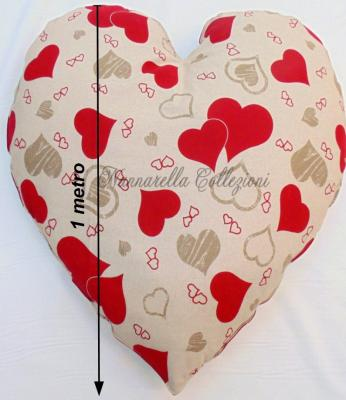 SOLOCUORI Pillows Collection MAXIsize Heart Shaped