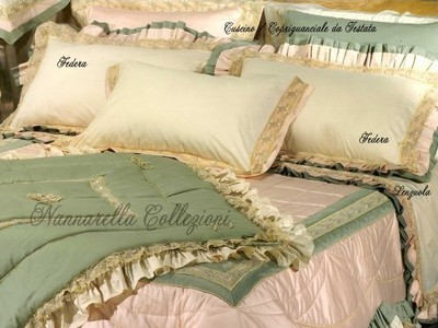 RANIA Couple Pillowcases for Headboard